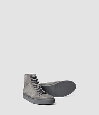 Hommes Pact Hi-top (Steel Grey) - product_image_alt_text_3