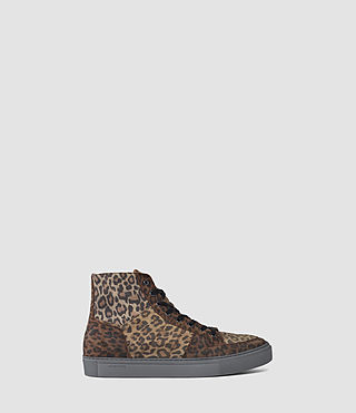 Mens Pact Hi-top Sneaker (Leopard)