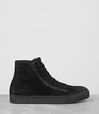 Hombres Asher Hi-top Sneaker (Black) - product_image_alt_text_2