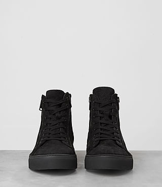 Hombres Asher Hi-top Sneaker (Black) - product_image_alt_text_3