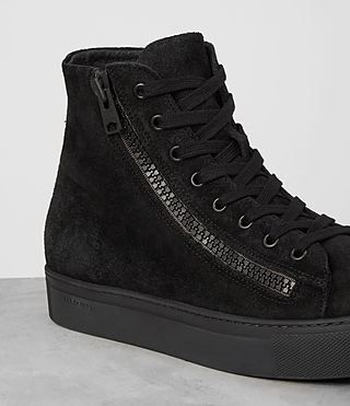 Hombres Asher Hi-top Sneaker (Black) - product_image_alt_text_4