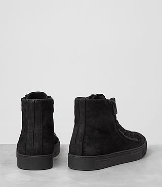 Hombres Asher Hi-top Sneaker (Black) - product_image_alt_text_5