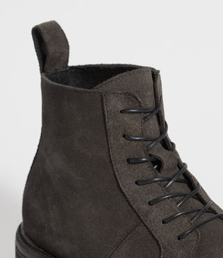 Mens Trent Boot (Charcoal Grey) - product_image_alt_text_5