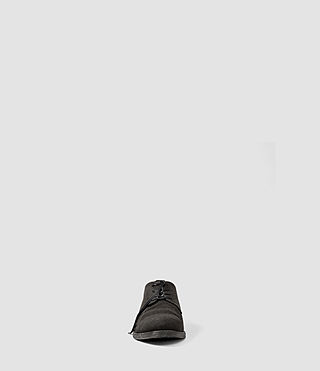 Hombres Canvas Miter Shoe (Washed Black) - product_image_alt_text_2