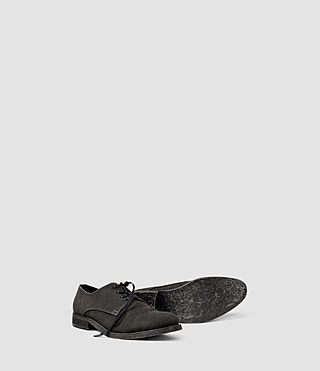 Hommes Canvas Miter Shoe (Washed Black) - product_image_alt_text_3