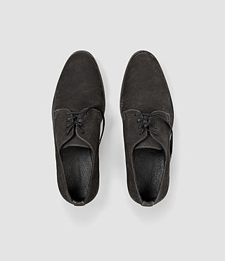Hombres Canvas Miter Shoe (Washed Black) - product_image_alt_text_4