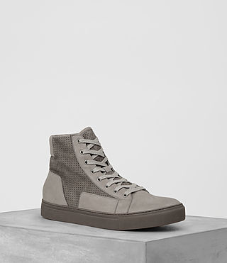 Mens Alt Hi-Top Sneaker (LIGHT TAUPE)