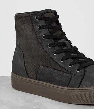 Men's Alt Hi-top Sneaker (Charcoal/Black) - product_image_alt_text_2