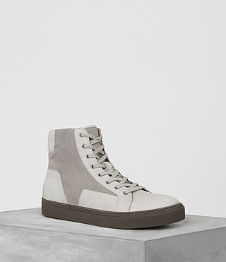 Mens Alt Hi-Top Sneaker (Chalk)