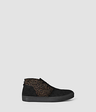 Uomo Rigg Hi-top (BLACK/LEOPARD)