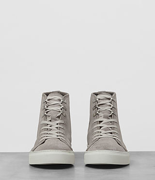 Mens Point Hi-top Sneaker (Slate Grey) - product_image_alt_text_3