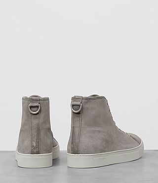 Hombres Point Hi-top Sneaker (Slate Grey) - product_image_alt_text_5
