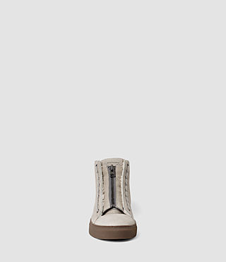 Hommes Tracker Shearling Hi Top (Stone) - product_image_alt_text_2