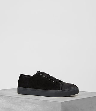 Mens Point Low-top Sneaker (Black)