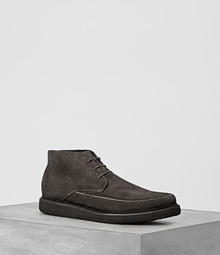 Mens Ayers Suede Boot (Dark Taupe) - product_image_alt_text_1