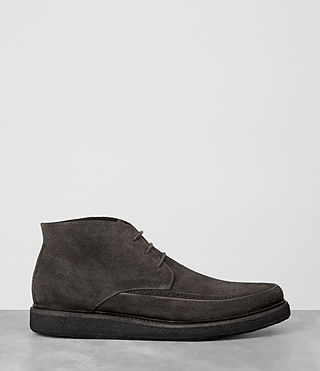 Mens Ayers Suede Boot (Dark Taupe) - product_image_alt_text_4