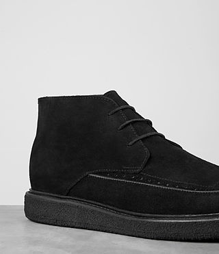Mens Ayers Suede Boot (Black) - product_image_alt_text_2