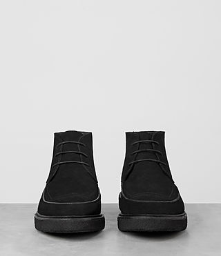 Mens Ayers Suede Boot (Black) - product_image_alt_text_3