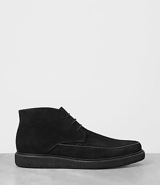 Mens Ayers Suede Boot (Black) - product_image_alt_text_4