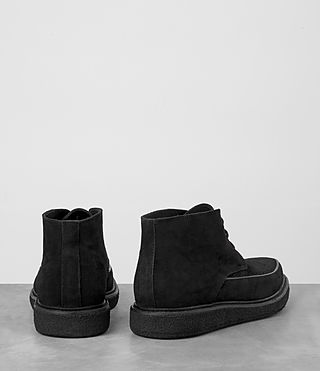 Mens Ayers Suede Boot (Black) - product_image_alt_text_5