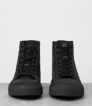 Mens Camo Point Hi-top Sneaker (CAMO BLACK) - product_image_alt_text_3