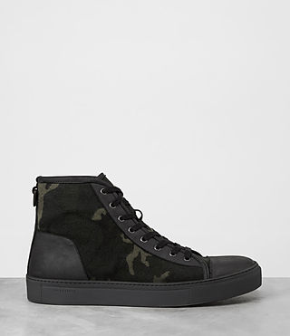 Mens Camo Point Hi-top Sneaker (CAMO BLACK) - product_image_alt_text_4