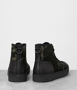 Mens Camo Point Hi-top Sneaker (CAMO BLACK) - product_image_alt_text_5