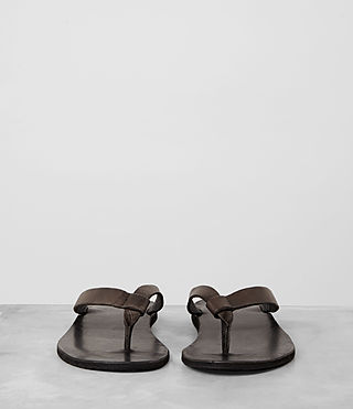 Mens Reef Leather Sandal (Bitter Brown) - product_image_alt_text_3
