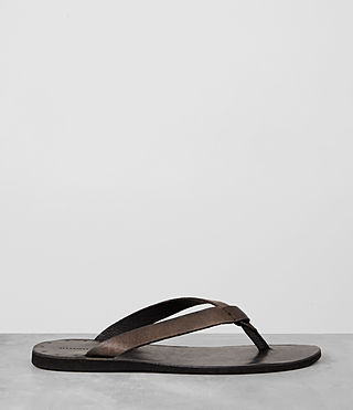 Mens Reef Leather Sandal (Bitter Brown) - product_image_alt_text_4