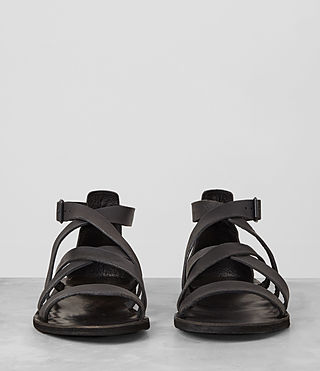 Mens Atlas Leather Sandal (Charcoal) - product_image_alt_text_3
