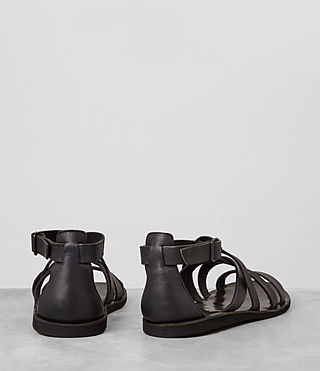 Mens Atlas Leather Sandal (Charcoal) - product_image_alt_text_5