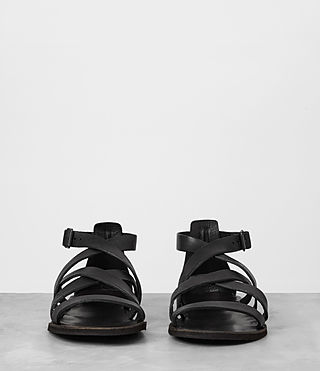 Mens Atlas Leather Sandal (Black) - product_image_alt_text_3
