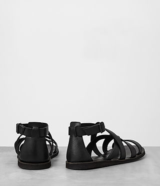 Mens Atlas Leather Sandal (Black) - product_image_alt_text_5