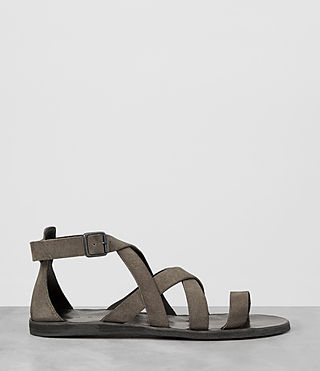 Mens Atlas Leather Sandal (Taupe) - product_image_alt_text_4