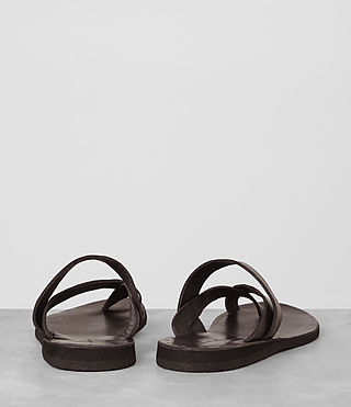 Mens Flax Leather Sandal (Bitter Brown) - product_image_alt_text_5