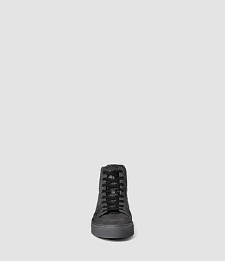 Mens Pact Hi-top Sneaker (Washed Black) - product_image_alt_text_2