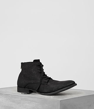 Uomo Snare Zip Boot (Black) -