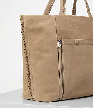 Women's Fleur De Lis East West Tote (Sand) - product_image_alt_text_2