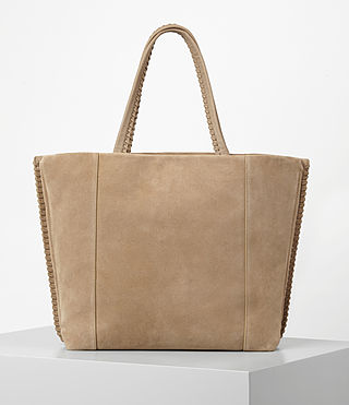 Women's Fleur De Lis East West Tote (Sand) - product_image_alt_text_6