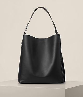 Mujer Pearl Hobo Bag (BLK/DK GR/PTRL BLU)