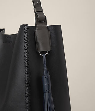 Womens Pearl Hobo Bag (BLK/DK GR/PTRL BLU) - product_image_alt_text_4