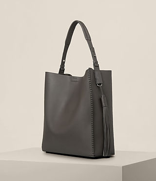 Women's Pearl Hobo Bag (Dark Grey) - product_image_alt_text_3
