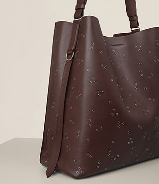 Damen Junai North South Tote (PRUNE) - product_image_alt_text_3