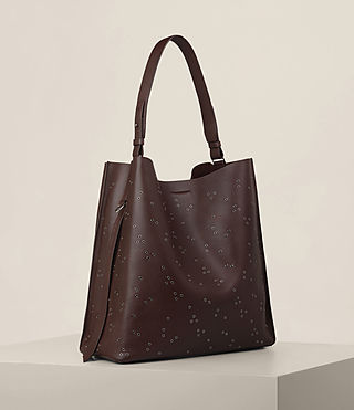Womens Junai North South Tote (PRUNE) - product_image_alt_text_4