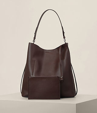 Mujer Junai North South Tote (PRUNE) - product_image_alt_text_5
