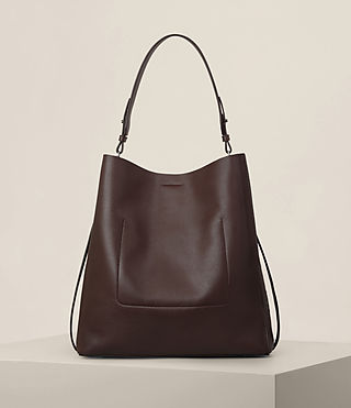 Mujer Junai North South Tote (PRUNE) - product_image_alt_text_7