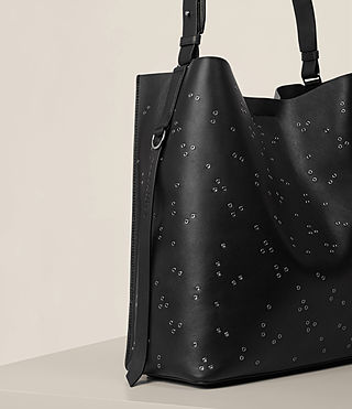 Damen Junai North South Tote (Black) - product_image_alt_text_3