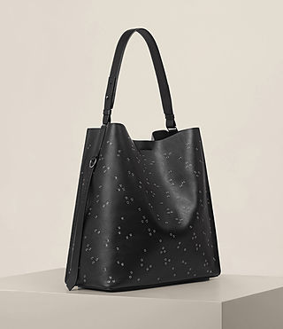 Damen Junai North South Tote (Black) - product_image_alt_text_4