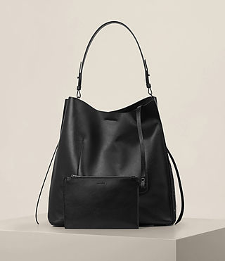 Damen Junai North South Tote (Black) - product_image_alt_text_6