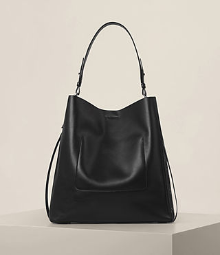 Damen Junai North South Tote (Black) - product_image_alt_text_7
